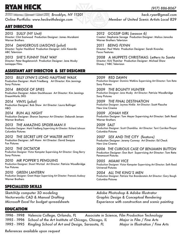 Resume - RYAN HECK